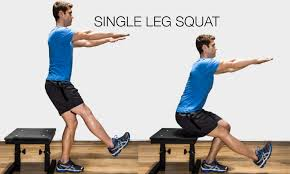 Image result for single leg box squat