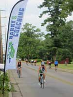 Racing at the Buckhead Border Challenge Triathlon