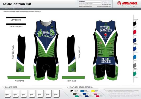 Sleeveless Tri Suit
